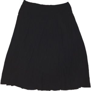 H&M Black 8 stretchy skirt